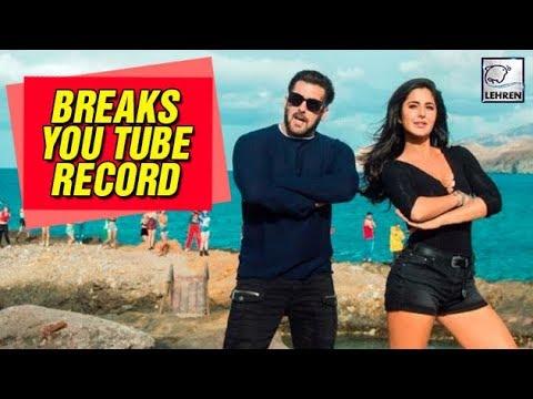 Tiger Zinda Hai Song SWAG Breaks You Tube RECORD!