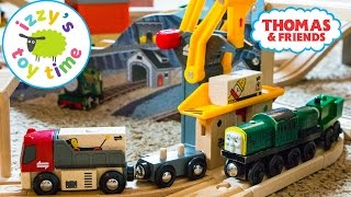 Thomas Train with Brio Freight Goods Station   Thomas and Friends   Fun Toy Trains for Kids
