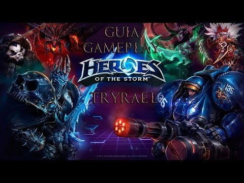 Gameplay Tyrael Heroes of the Storm Español