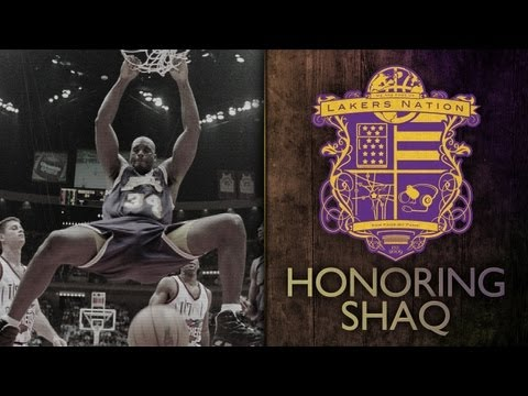 Retiring - [4/2/13] Shaq talks about his relationship with Kobe Bryant, his memories with the Lakers, growing up, Dr. Buss and Jerry West before the Lakers retired his ...