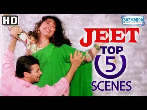 Video Top 5 Scenes From Jeet (1996) (HD) - Sunny Deol - Salman Khan - Karishma Kapoor - Popular 90's Film download in MP3, 3GP, MP4, WEBM, AVI, FLV January 2017