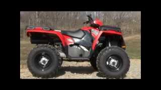 4. 2011 Polaris Sportsman 500 Test