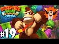 Donkey Kong Country Tropical Freeze Co-Op Jelly Jam PART 19 (Wii U HD Gameplay Walkthrough Coop)