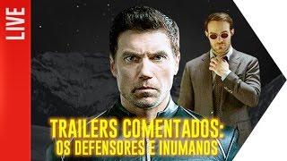 Essa semana tivemos a divulgação do primeiro trailer de Os Defensores e do primeiro teaser de Inumanos! O que esperar destas...