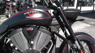 9. 020380 - 2013 Victory Hardball - Used Motorcycle For Sale