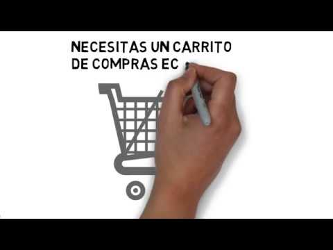 Carrito de compras - vende por internet