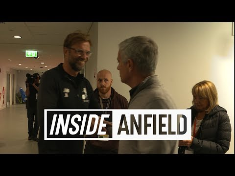 Inside Anfield: Liverpool v Manchester United   TUNNEL CAM
