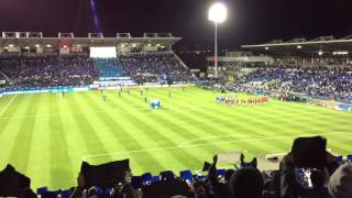 Impact vs Toronto - Playoff Entrance