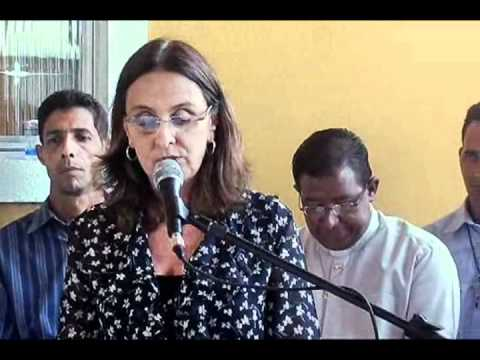 Andrea Neves inaugura Centro Solidário em Taiobeiras