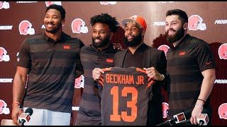 Terry Pluto talks Cleveland Browns, press conference and Odell Beckham