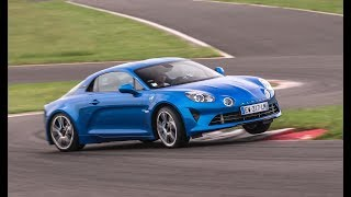 Alpine A110 drifting at Magny-Cours ! by Motorsport Magazine
