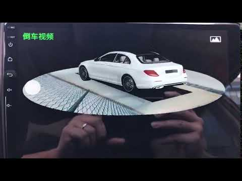 360 view camera automatically check surrounding when start the vehicle