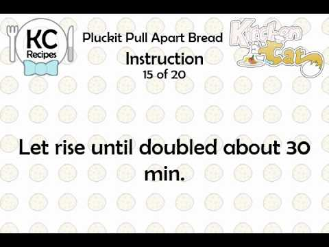Video of KC Pluckit Pull Apart Bread