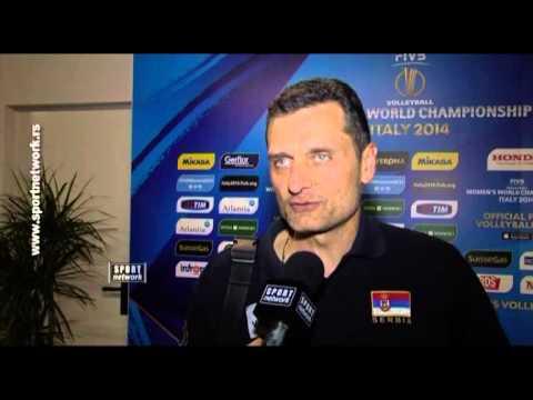 Izjava Zorana Terzića nakon poraza od SAD