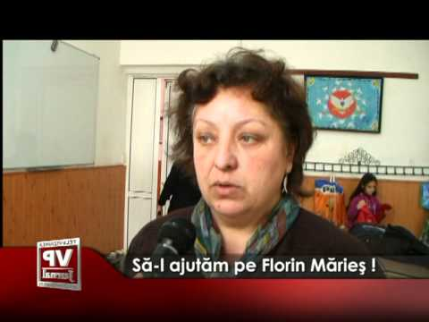 Să-l ajutăm pe Florin Mărieş !