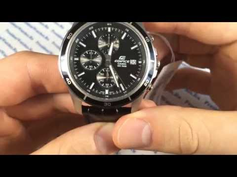 Обзор часов Casio EDIFICE EFR-526L-1A - видеообзоры от PresidentWatches.Ru (видео)