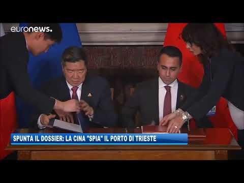 15/09/2020 - SPUNTA IL DOSSIER: LA CINA 'SPIA' IL PORTO DI TRIESTE
