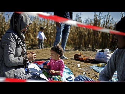 Δίχως τέλος τα «κύματα» προσφύγων σε Σερβία- Κροατία