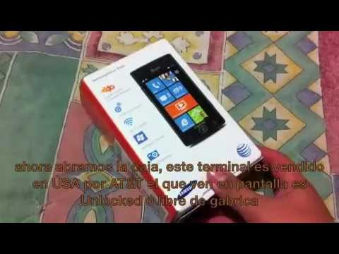 Samsung Focus Flash i677 Windows Phone 7 (Review Sub. Español)