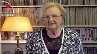 Rzeczowa wypowiedź prof. Łętkowskiej, na temat PiSowskiego skoku na sądy.