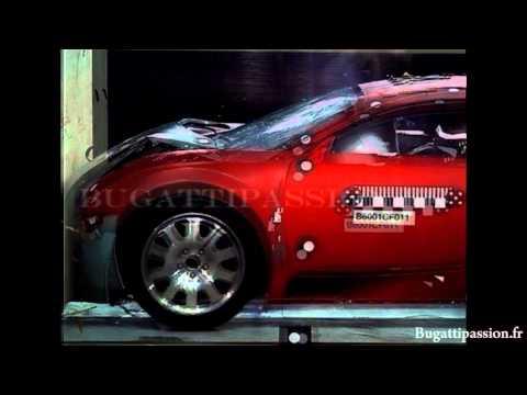 Bugatti Veyron Bugatti Veyron Crash Test