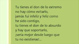 Si tu no existieras - Ricardo Arjona (con letra)