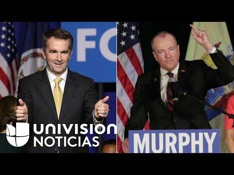 Victoria de los demócratas en las gobernaciones de Virginia y Nueva Jersey