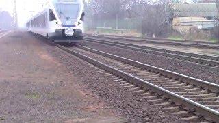 Vecses Hungary  city photos : Stadler Flirt train arriving at Vecsés, Hungary | TVchips.hu