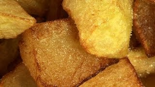 Spanische Kartoffel Tapas (Patatas Bravas)