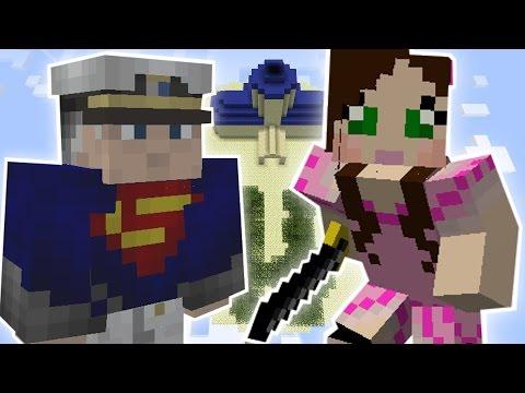 Minecraft: SUPER SKY ISLAND QUEST - Custom Mod Challenge [S8E6]