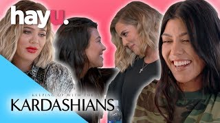 Video Khloé & Kourtney's Funniest Moments | Keeping Up With The Kardashians MP3, 3GP, MP4, WEBM, AVI, FLV September 2018