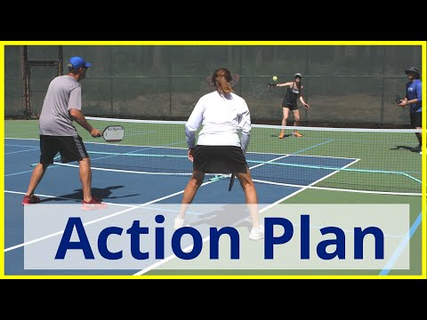 Pickleball Training Tips//3 Basics To Improve Anyone's Game