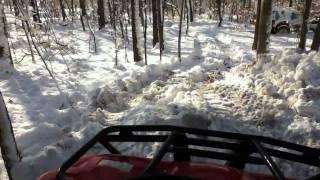 9. Honda Recon 250 In The Snow