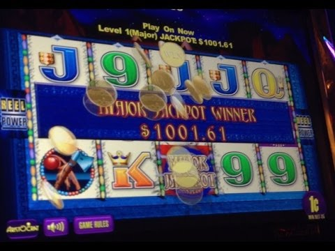 $1000+ WIN!! Jackpot Catcher Slot Machine Bonus & Progressive! ~Aristocrat