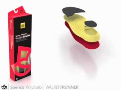 Spenco PolySorb Walker-Runner Insoles