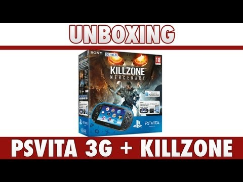 RV3tv : Unboxing PSVita 3G + Killzone Mercenaries