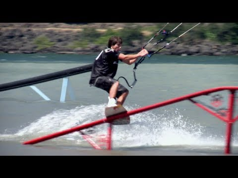 Loose - Aaron and Ruben are in Washington State for a kiteboarding competition. Taking a break from the water, the boys hit the trails for some mountain biking actio...
