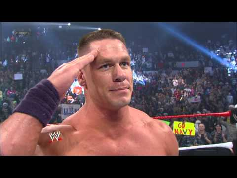 John Cena Addresses The Troops:Tribute To The Troops, December 19, 2012