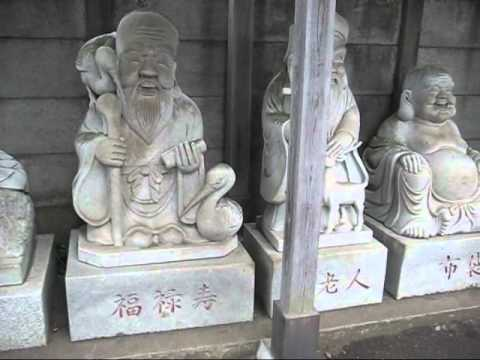 7 lucky gods in japan 七福神が勢ぞろい