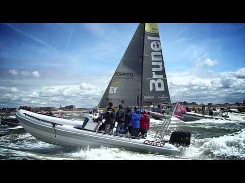 Volvo Ocean Race The Hague - Start leg 9 to Göteborg