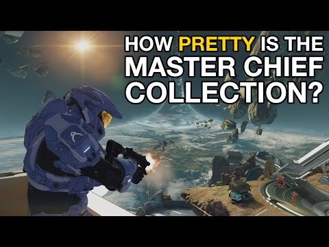 pretty - Despite not being entirely blown away by the Halo 2 stuff, Dave seems rather impressed with Halo: The Master Chief Collection. We've got some footage from two of the singleplayer levels from...
