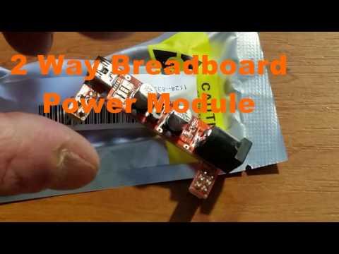 2 Way Breadboard Power Module from Banggood com