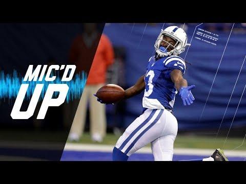 Video: T. Y. Hilton Mic'd Up vs. Browns