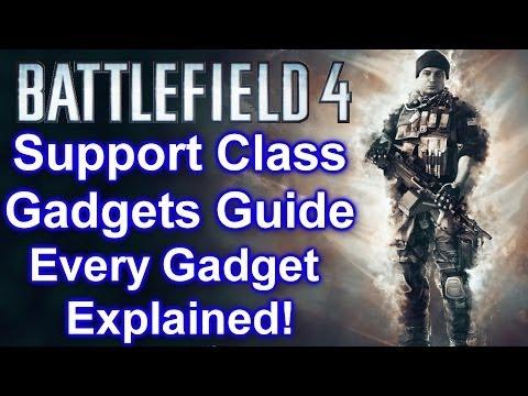 Battlefield 4 – Support Class Gadgets Guide All Gadgets Explained! (BF4 Support Class Gadgets Guide)