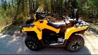 7. can am outlander max 650 top speed
