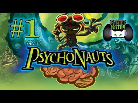 (Part 1) Let's Play: Psychonauts [BLIND] - Welcome To Camp!