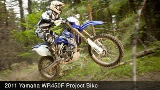 3. MotoUSA 2011 Yamaha WR450F Project Bike