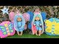 Download Lagu Ani y Ona juegan a ser mariposas con maquillaje joyas y muchos accesorios nuevos Mp3 Free