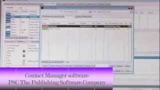 Publishing Software Company - Contact Manager software Image