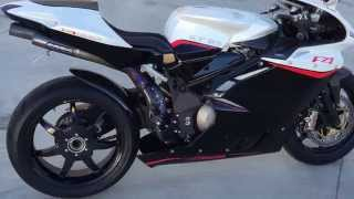 3. 2009 MV AUGUSTA RR 1078 F4 CUSTOM only 2800 miles At Celebrity Cars Las Vegas